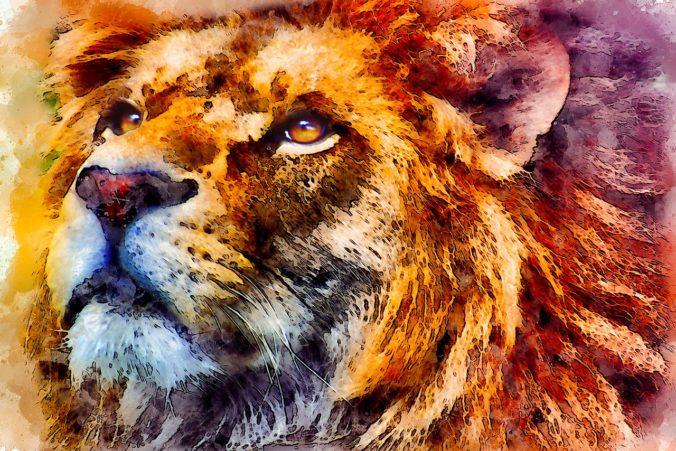 dappere leeuw